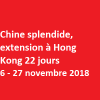 Chine splendide, extension à Hong Kong 22 jours