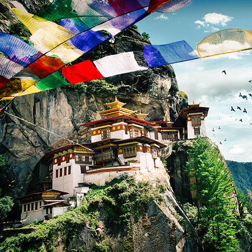 Sikkim, Bhoutan, Népal 20 jours