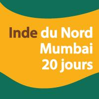 Inde du Nord, Mumbai et extension 20 jours