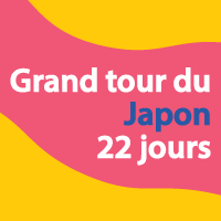 Grand tour du Japon 22 jours