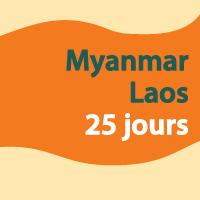 Myanmar Laos 25 jours