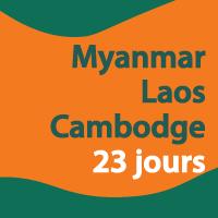 Myanmar Laos Cambodge, c'est certain que je garderai un souvenir inoubliable de ce voyage.