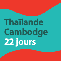 Bien contents de notre voyage et découverte en Thaïlande et au Cambodge.
