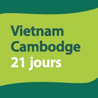 Trésors vietnamien et angkorien 21 jours
