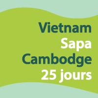 Vietnam et Cambodge 25 jours