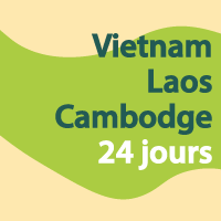Vietnam Cambodge Laos 24 jours