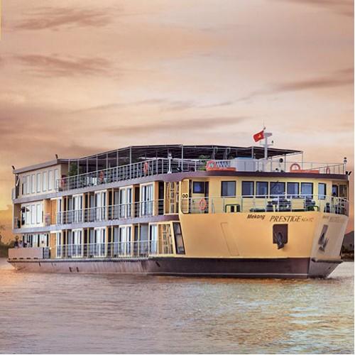 Le meilleur du Vietnam et du Cambodge 23 jours, croisière sur le Fleuve Mékong